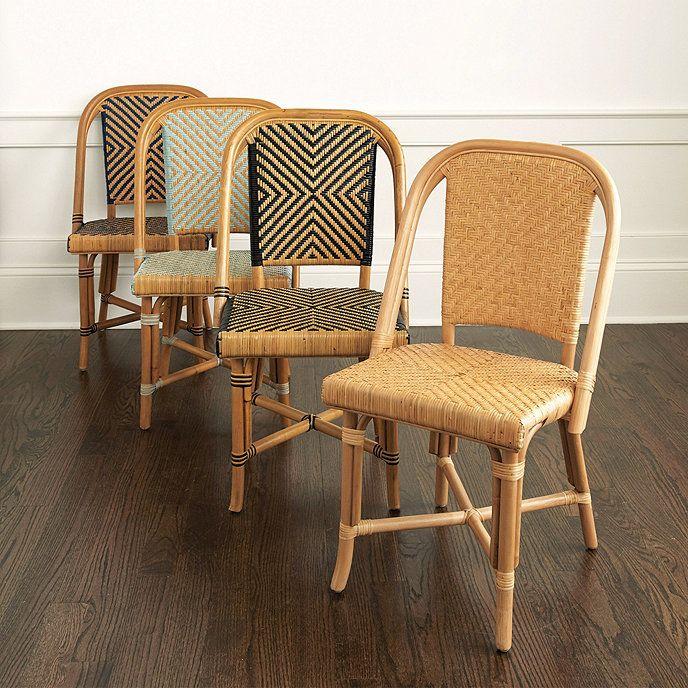 Set Of 2 Paris Bistro Chairs Ballard Designs Paris Bistro