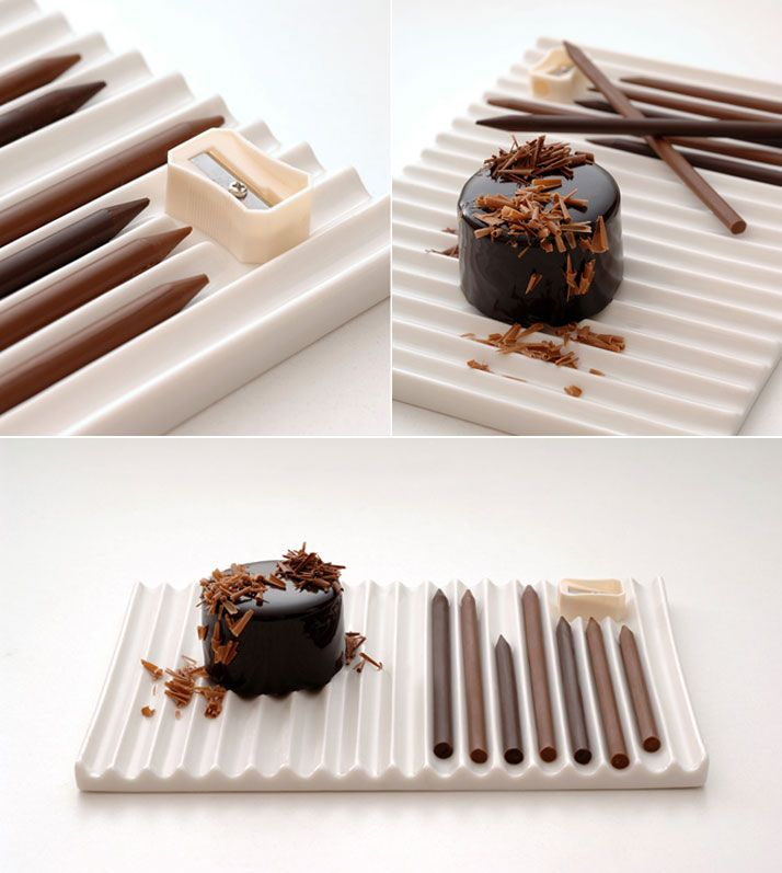 Chocolate Art by Nendo