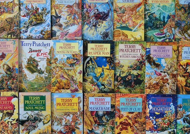 Terry Pratchett's Discworld books illustrated by Josh Kirby