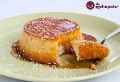 ¿Te animas? Un postre dulce sabroso, suave y ligero. Flan de coco casero http://www.recetasderechupete.com/flan-de-coco/12237/ #Flan #coco