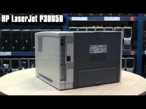 Velkokapacitní tiskárna HP LaserJet P3005D s duplexem, tonerem a kabelem