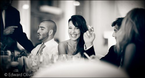 Lady in party - Copyright Edward Olive Wedding & portrait photographer for people who care about quality.