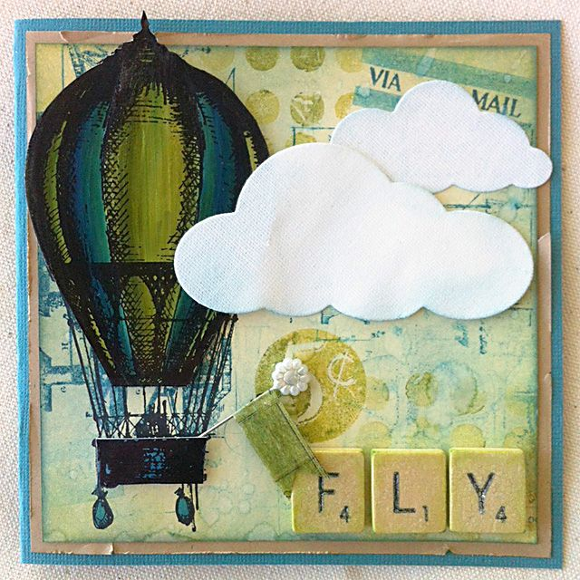Your creativity will soar to new heights when you make this card with our Inkssentials and Distress products.