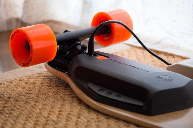 Remote control electric skateboard ( #longboard #skateboard #gadget #technology )