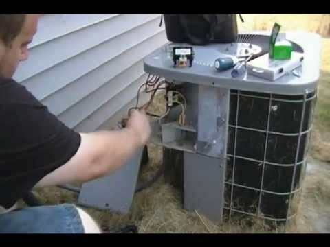 Capacitor - How to fix your AC Capacitor and contactor replacement