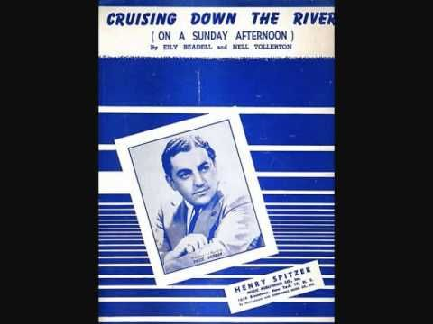 1949 ♦ Blue Barron and His Orchestra ~ Cruising down the River