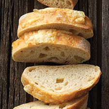 The nutty, mellow flavor of Asiago cheese adds a kick to this traditional Italian loaf. w starter