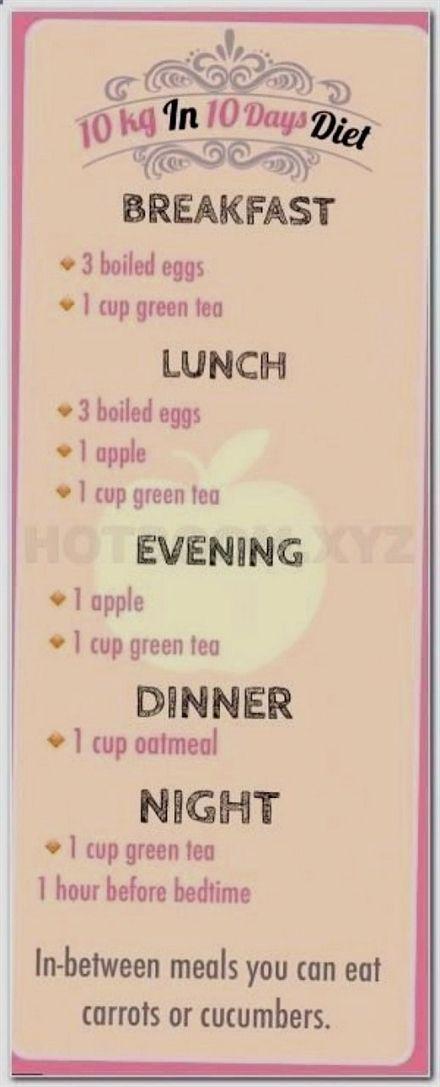 . 2 Week #Diet Plan healthy way to lose wei…