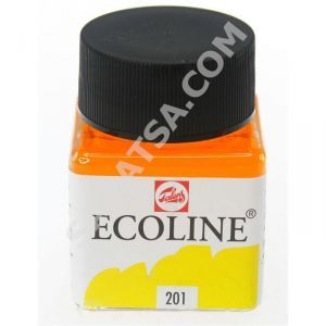 Talens Ecoline Sıvı Suluboya 30 ml. 201 Light Yellow