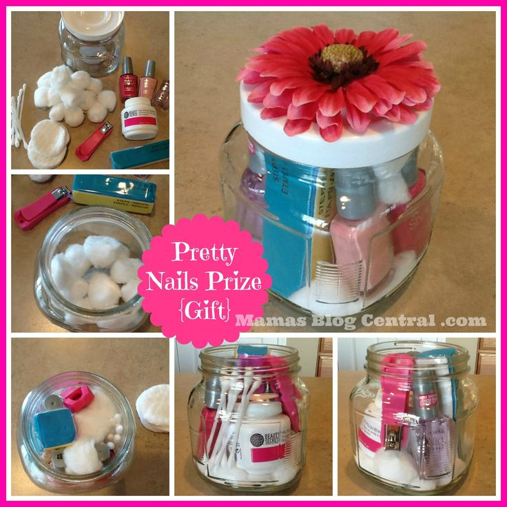 Prizes At Baby Showers: Pretty Nails Shower Prize