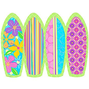 Free Printable Surf Boards