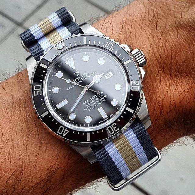 The Luxury Watch & Jewellery Exchange — Loving the Nato Strap trend…