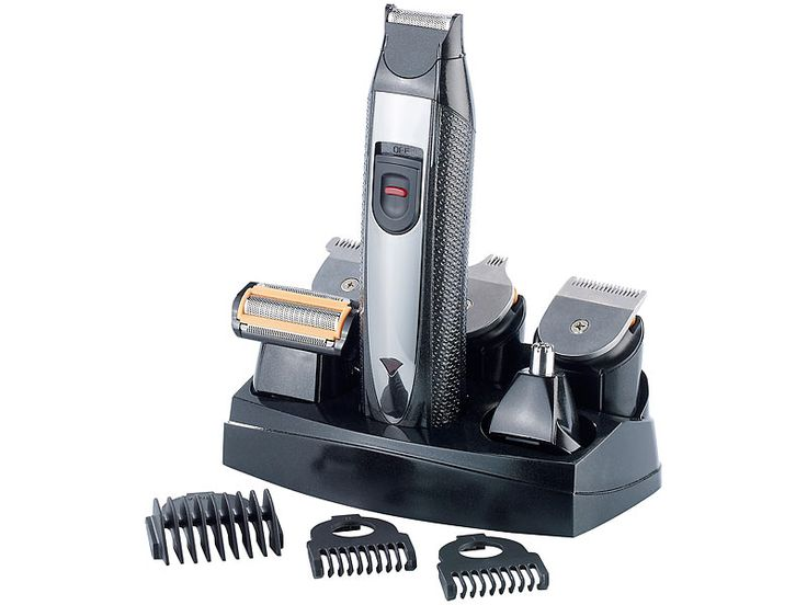 Sichler Men's Care 6in1 Trimmer Set für Rasur, Frisur und Pflege