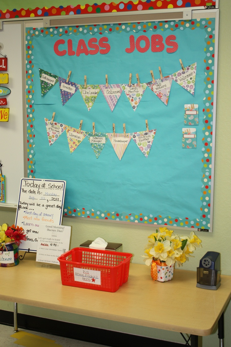 Classroom Greeting Ideas ~ Best ideas about classroom jobs board on pinterest