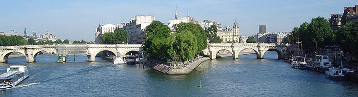 The Île de la Cité is one of two remaining natural islands in the Seine within the city of Paris (the other being the Île Saint-Louis). It is the centre of Paris and the location where the medieval city was refounded.