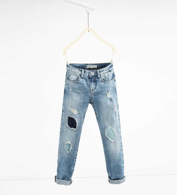 jean d chir ceinture jeans filles 4 14 ans enfants zara france anouk style
