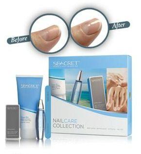 Natural nail care collection. Smooth and shiny nails naturally.