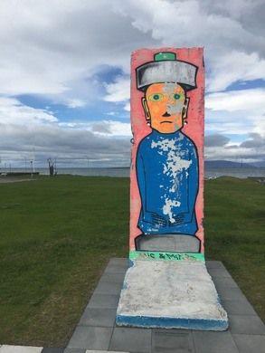 Piece of Berlin Wall In Iceland – Reykjavik, Iceland | Atlas Obscura