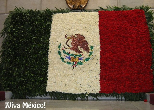 The meaning of the Mexican flag