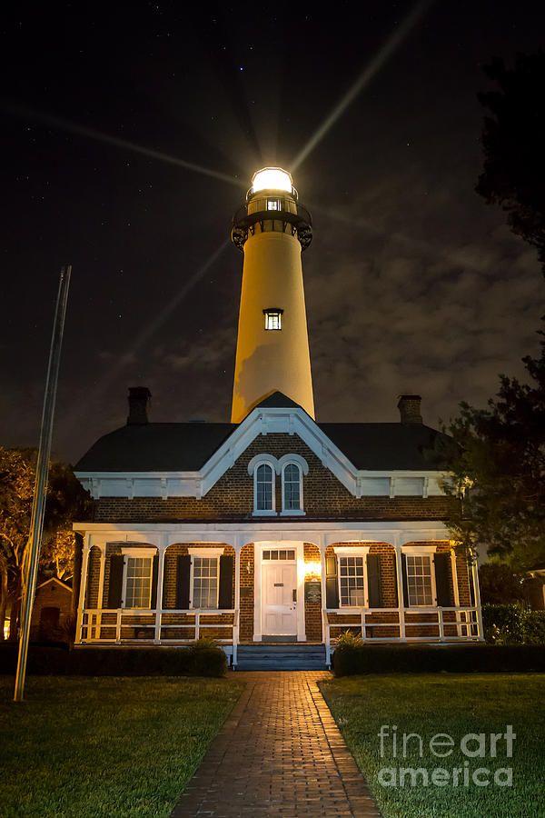 ✯ St. Simons Island Lighthouse - Georgia