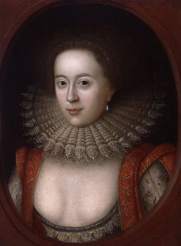 Frances Howard, Countess of Somerset, daughter of Thomas Howard, Earl of Suffolk, 1st wife of Robert Devereux, 3rd Earl of Essex: