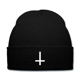 Inverted Cross Beanie - Available Here: http://sondersky.spreadshirt.com.au/inverted-cross-A18439284