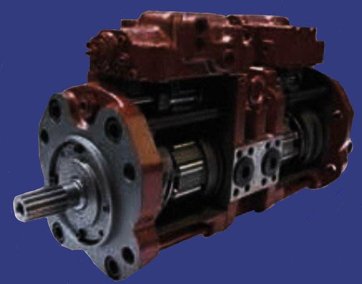 Komatsu Excavator PC 150-5 Hydraulic Main Pump Repair