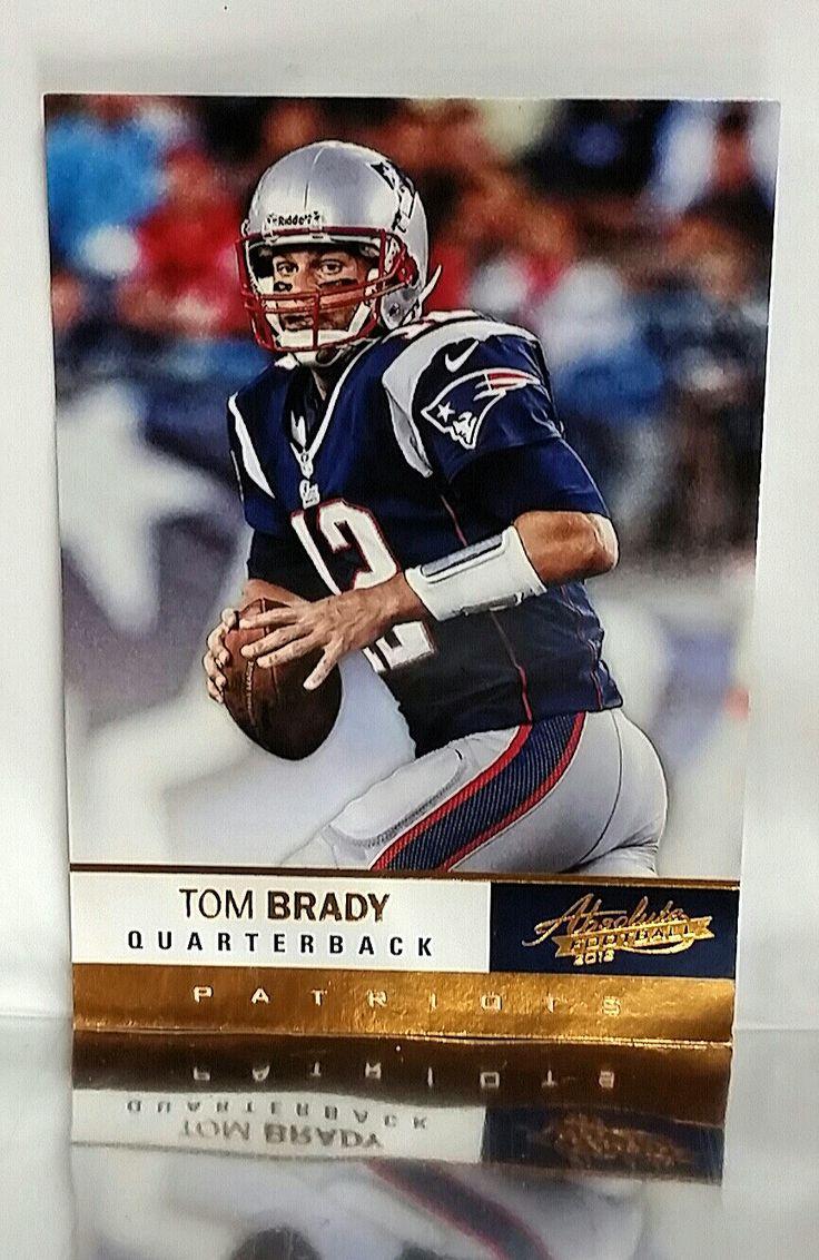 2012 Panini # 34 Tom Brady, QB, New England Patriots, 3x Super Bowl MVP, NM-MT+