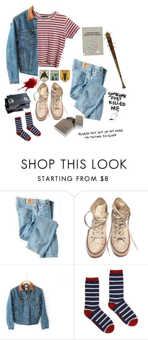 """nancy wheeler"" by imagjnary ❤ liked on Polyvore featuring Dickies, Converse, Carhartt, Seasalt, Forum and House Of Voltaire"
