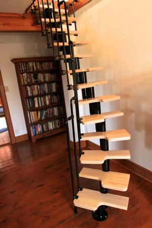 Compact stairs make attics accessible