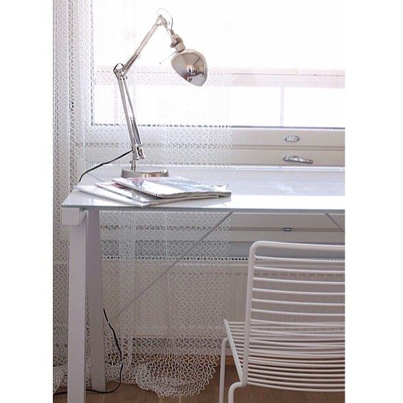 """white it is ⚪️ #white #home #whitehome #valkoinen #interior4you #simple #whitedesk #homeoffice #workspace #roominspo #työhuone #whitefurniture #interior2you #interiordetails #inredning #sisustus #interiorstyle #interiordesign #interiorforinspo #hay #hayhee #chair #whitestyle #whiteliving #interior123 #ikea #forså #työvalaisin #arbetslampa #worklamp"" Photo taken by @miadesignfi on Instagram, pinned via the InstaPin iOS App! http://www.instapinapp.com (07/07/2015)"
