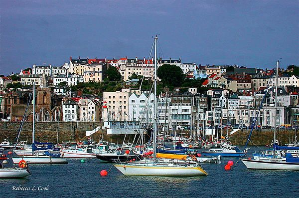 St. Peter Port Isle Of Guernsey Channel Islands  By Bellesouth Studio