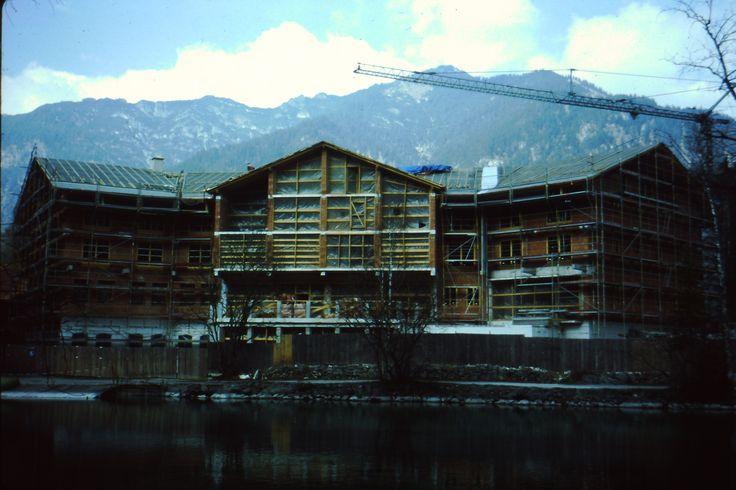Der Bau des aktuellen Seehauses ...
