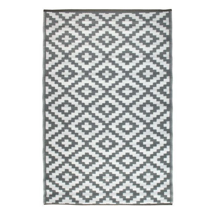 Green Decore Nirvana Grey Indoor/Outdoor Area Rug & Reviews | Wayfair.co.uk