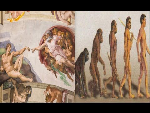 A Origem da Vida Humana na Terra-Criacionismo e Evolucionismo.Parte 1/2. - YouTube