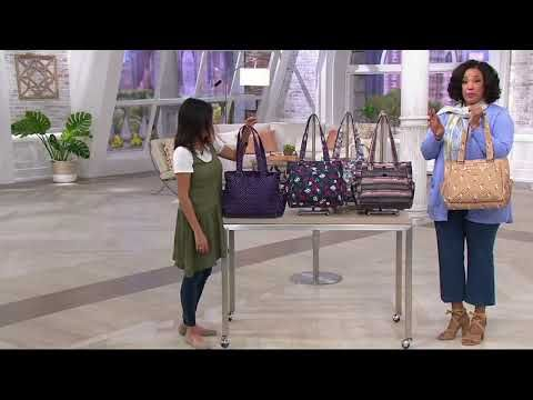 dfff467a8 106) Lug RFID Shopper Tote - Cabby on QVC - YouTube   Sewing: Bags ...
