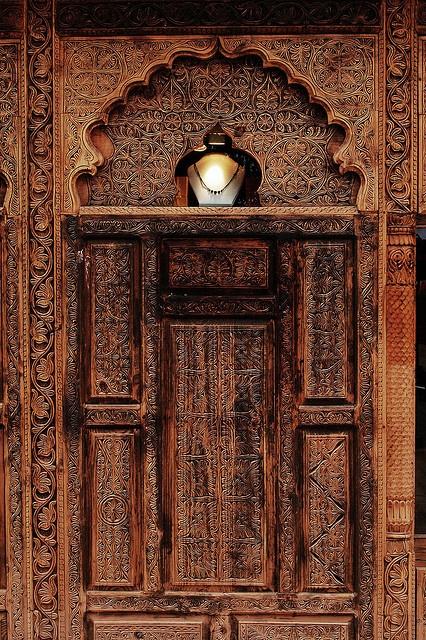 Hand carved door pakistan doors and facades