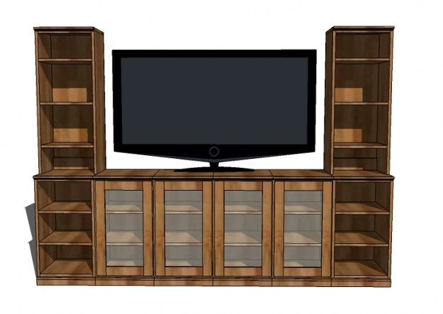Do it yourself entertainment center plans woodworking for Media center plans