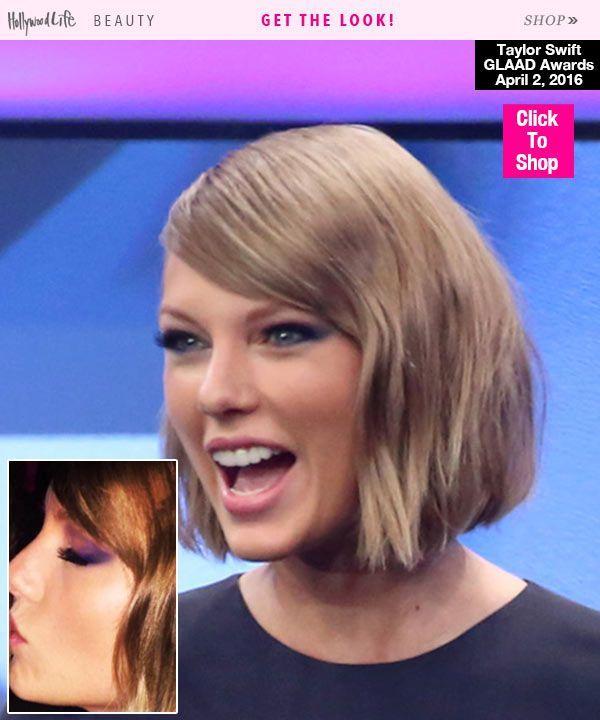 Taylor Swift Hair GLAAD Awards