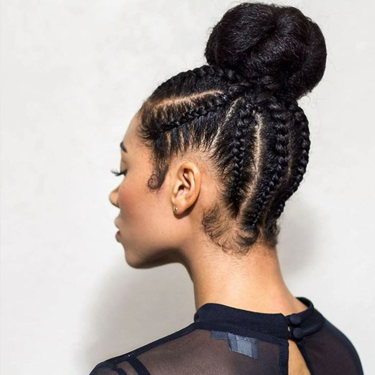 how to make high bun hairstyle