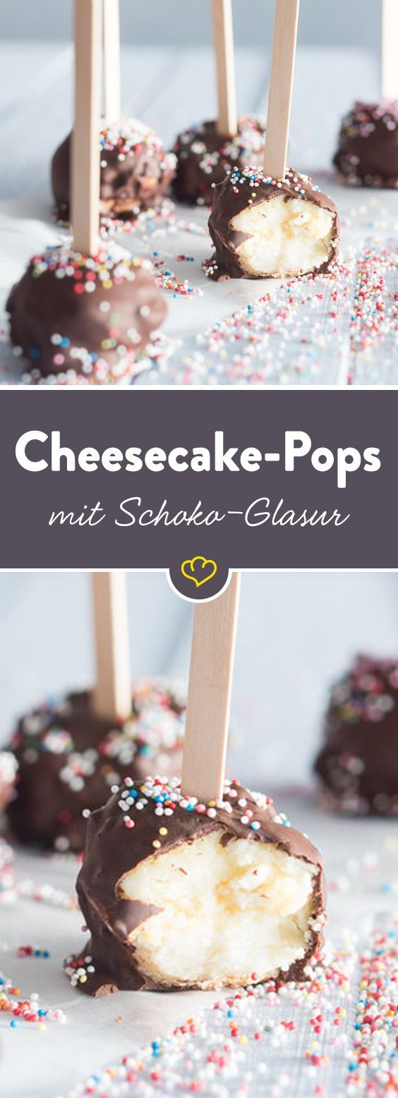 Cremige Cake Pops mit Cheesecake