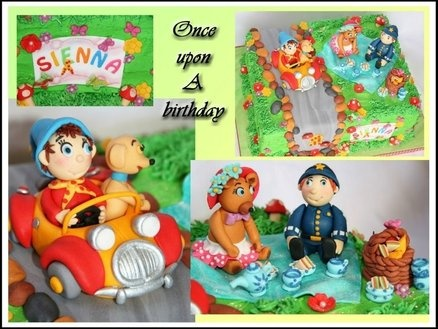 Noddy and friends  Cake by Madelyn