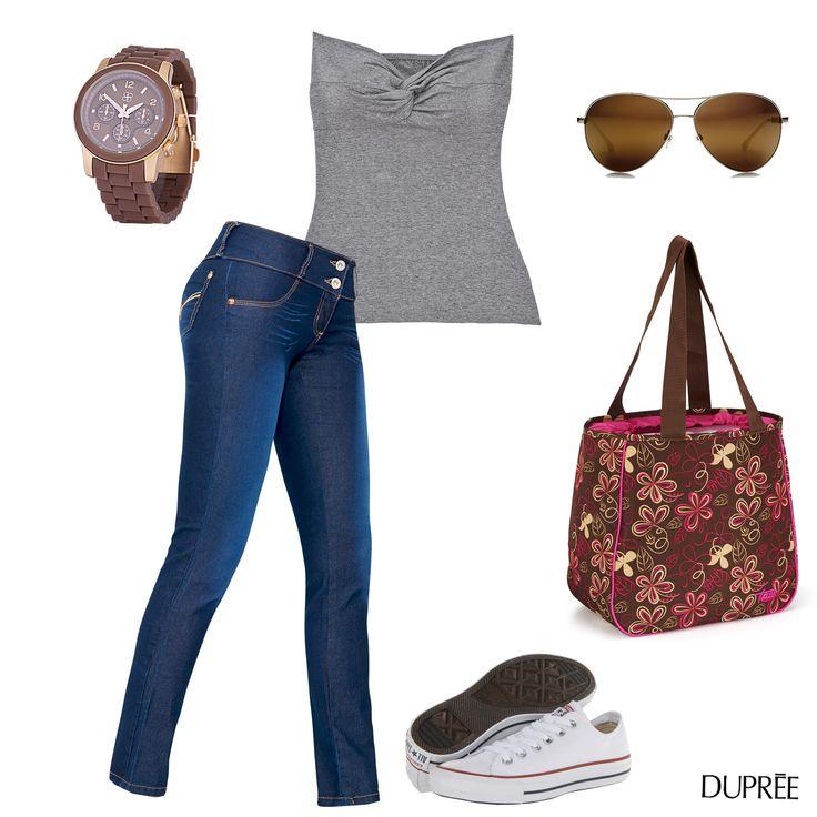 Un look Dupree para un día de sol. #Fashion #Moda #Outfit #Mujer