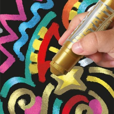 Metallic paint sticks - silky smooth and so convenient. More unique art supplies