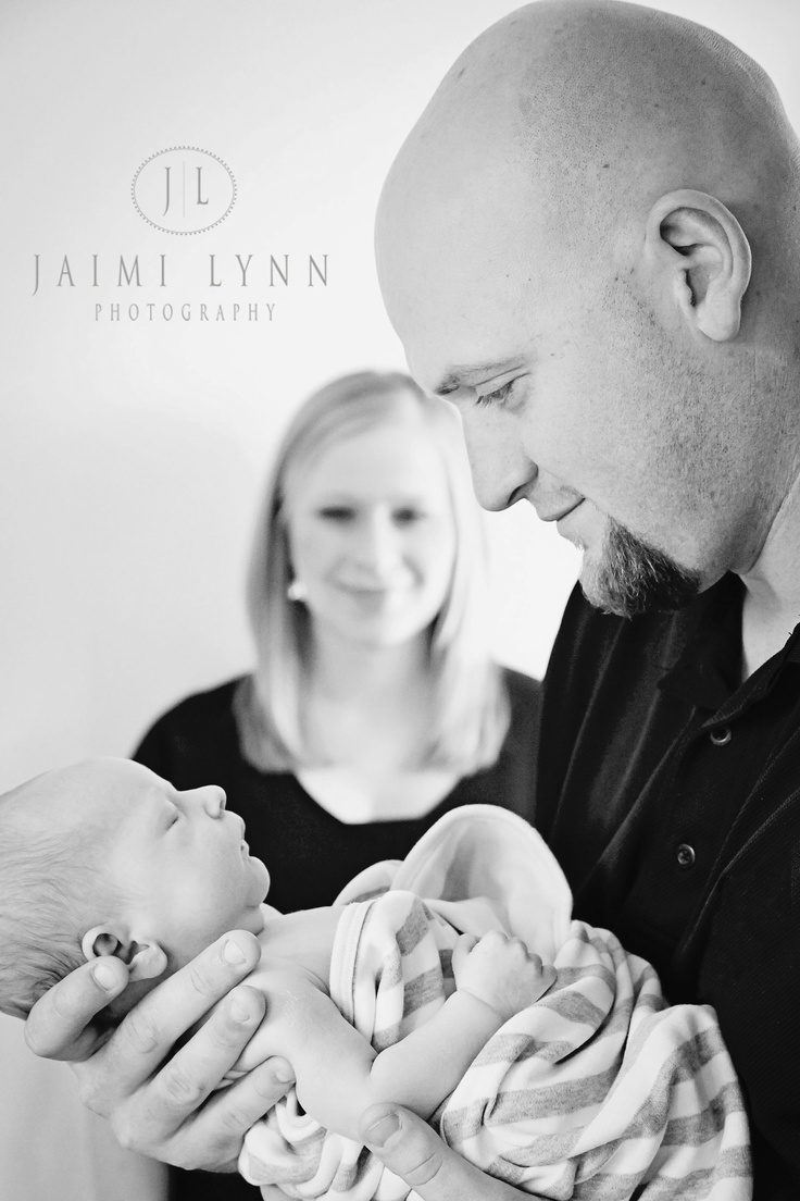 Newborn Session ::Father and Son