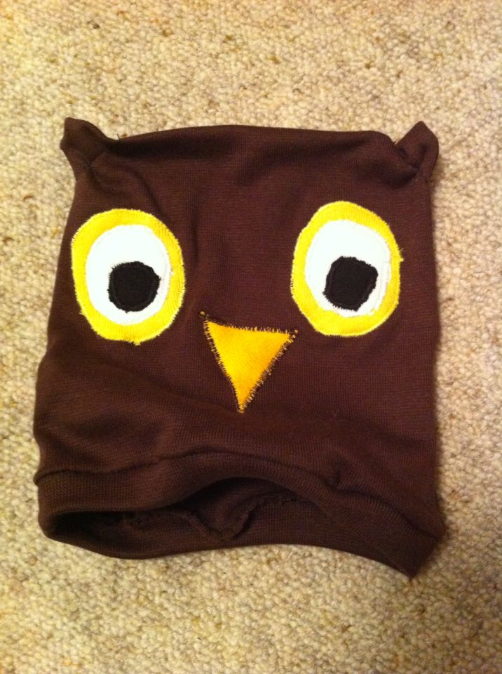 Owl hat for baby.