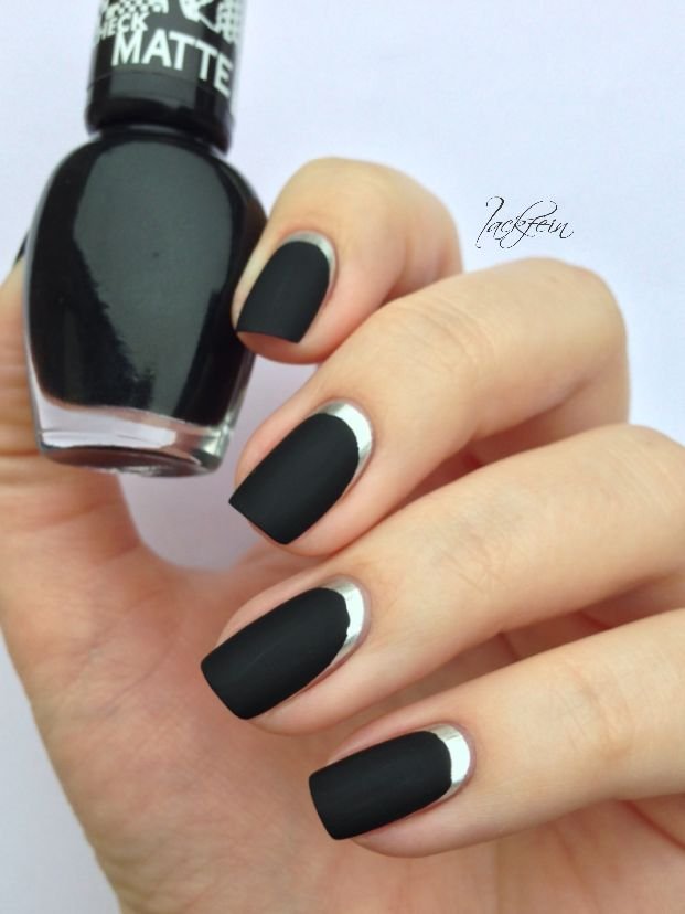 OPI Push and Shove Astor Check Matte   See more at http://www.nailsss.com/acrylic-nails-ideas/3/ :)