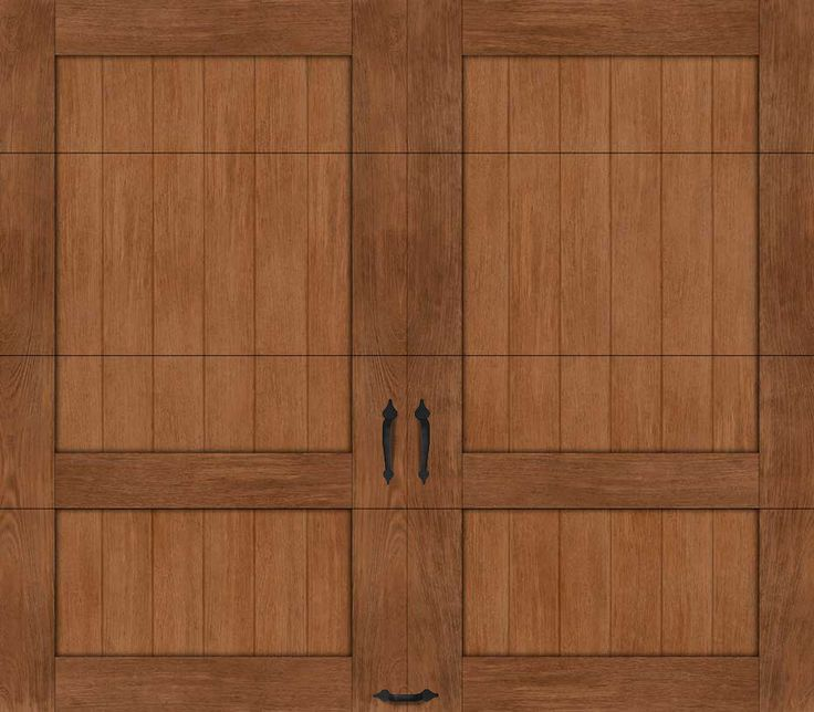 Custom Crafted Wood-Look 5-Layer | Ideal Garage Doors