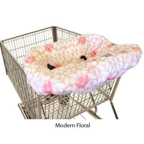 Itzy Ritzy Shopping Cart and High Chair Cover - Modern Floral by Itzy Ritzy, http://www.amazon.com/dp/B007F38UYS/ref=cm_sw_r_pi_dp_mBxarb0RNTD9V