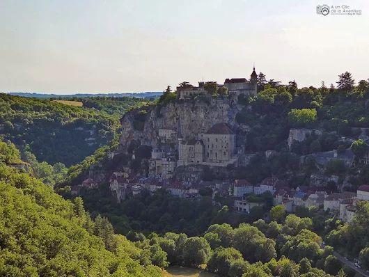 Rocamadour, el pueblo que desvió el Camino de Santiago - Viaje al Perigord Negro…